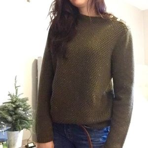 Talbots Sweater Semi Turtleneck